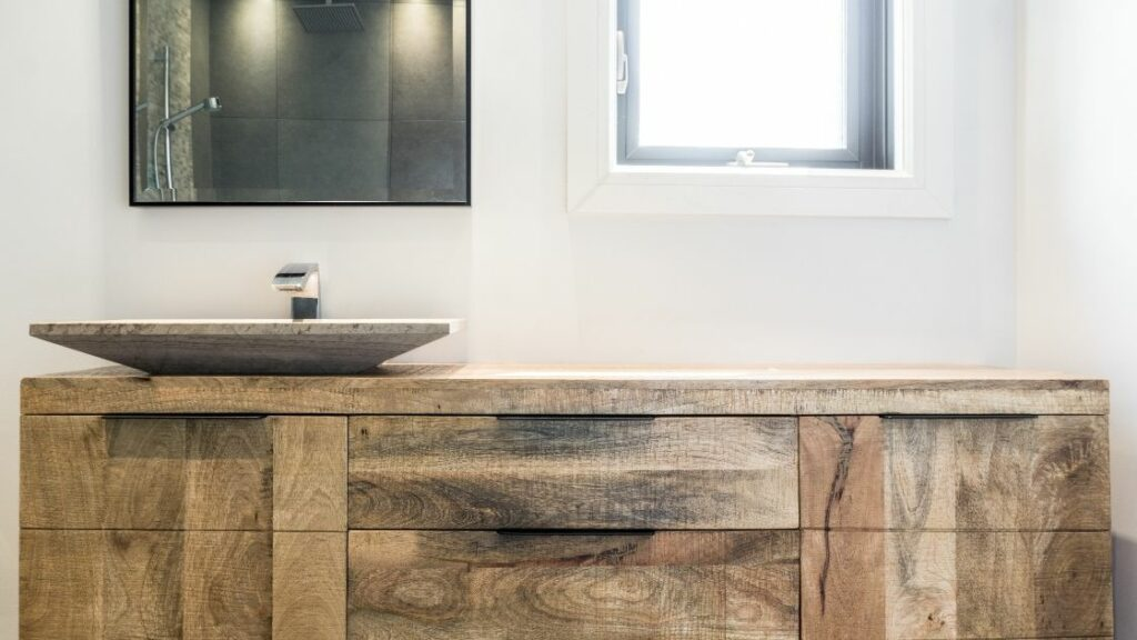 Single Bathroom Vanity Wooden