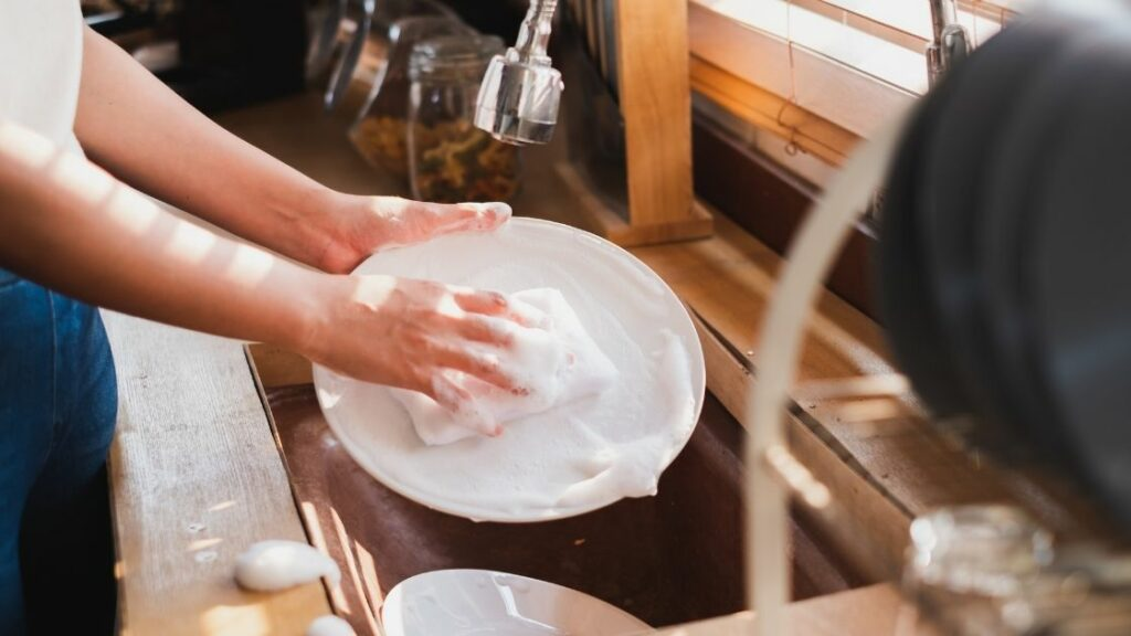 Dishwasher Versus Hand Washing